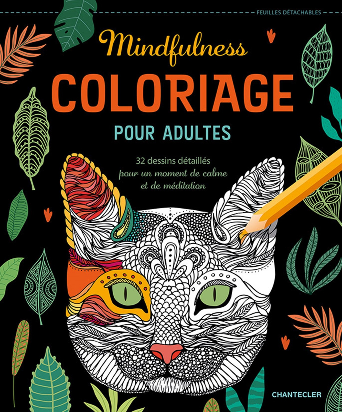 COLORIAGE POUR ADULTES - MINDFULNESS
