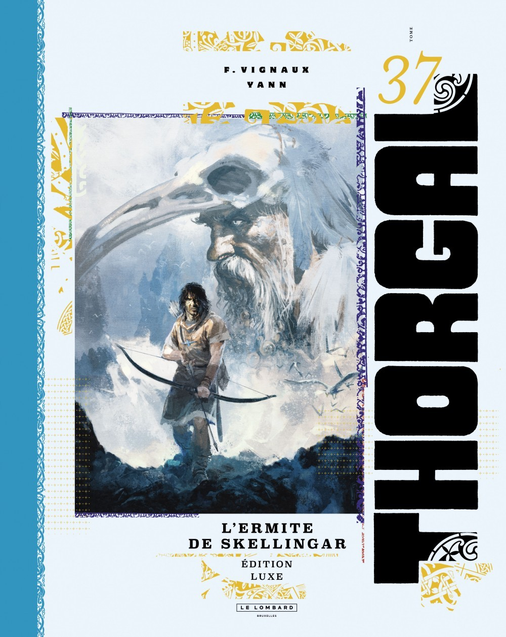 THORGAL (VERSION LUXE) T37 THORGAL LUXES - TOME 37 - L'ERMITE DE SKELLINGAR LUXE