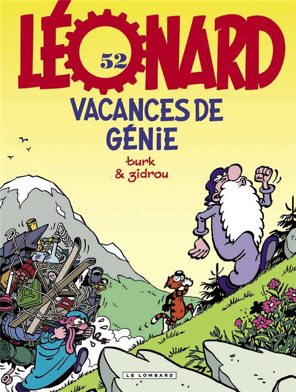 Leonard - tome 52 - vacances de genie