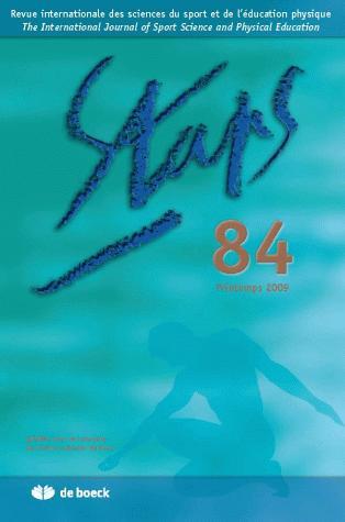 STAPS 2009/2 N.84 PRINTEMPS 2009