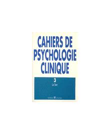 CAHIERS DE PSYCHOLOGIE CLINIQUE 1994/3 N.3