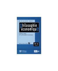 PHILOSOPHIE ECONOMIQUE 2000/2 - N.2