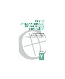 REVUE INTERNATIONALE DE POLITIQUE COMPAREE 2001/2
