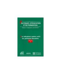 POLITIQUES D'EDUCATION ET DE FORMATION 2001/3