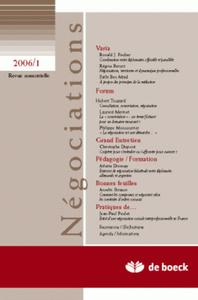 NEGOCIATIONS 2006/1