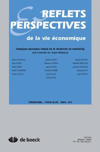 REFLETS ET PERSPECTIVES DE LA VIE ECONOMIQUE 2008/2