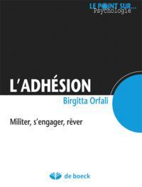ADHESION (L')