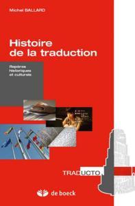 HISTOIRE DE LA TRADUCTION