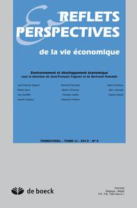 REFLETS ET PERSPECTIVES DE LA VIE ECONOMIQUE 2012/4