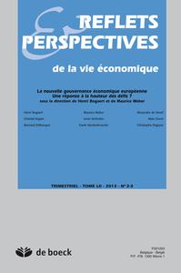 REFLETS ET PERSPECTIVES DE LA VIE ECONOMIQUE 2013/2-3