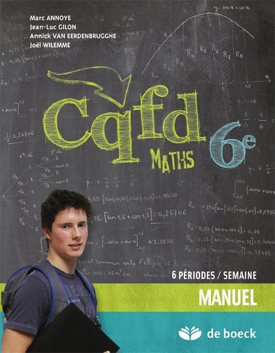CQFD MATHS 6EME 6P/SEMAINE - MANUEL