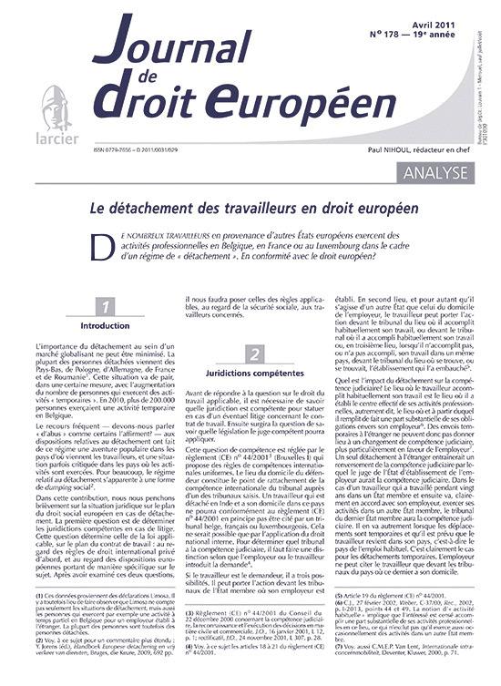 JOURNAL TRIBUNAUX-DR.EUROPEEN N.11/4-178