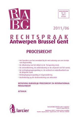 RABG-2011/06 - PROCESRECHT