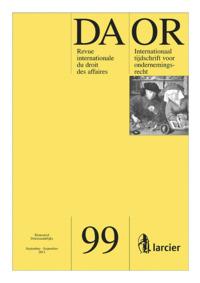 DAOR - LE DROIT DES AFFAIRES 2011/3 N99
