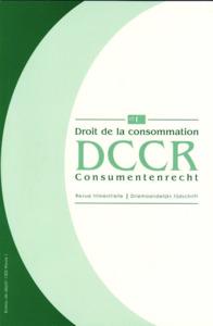 DROIT CONSOM./CONSUM. RECHT 2011/2 N91