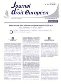 J.T. DROIT EUROPEEN 2012/4