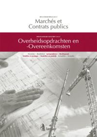 MARCHES ET CONTRATS PUBLICS 2012/1