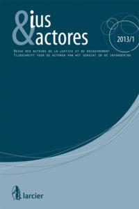 IUS  ACTORES 2013/1