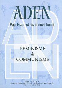 REVUE ADEN N 6 - PAUL NIZAN ET LES ANNEES 30 N 6