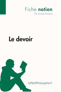 LE DEVOIR (FICHE NOTION)