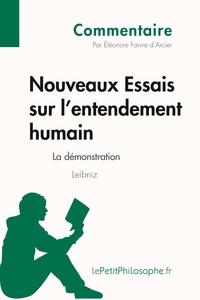 NOUVEAUX ESSAIS SUR L'ENTENDEMENT HUMAIN DE LEIBNIZ - LA DEM