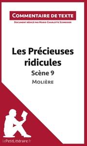 COMMENTAIRE COMPOSE LES PRECIEUSES RIDICULES DE MOLIERE SCENE 9