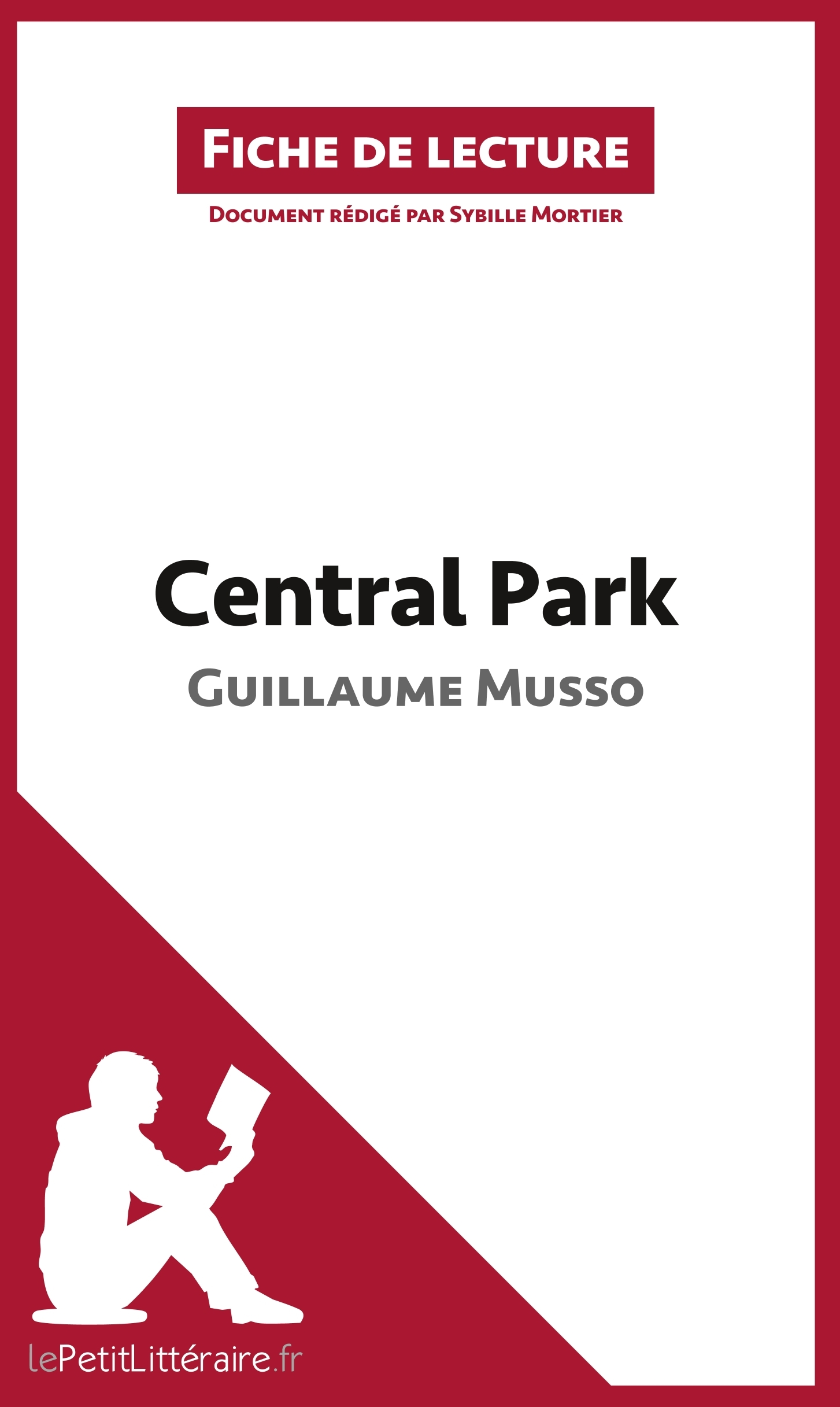 ANALYSE CENTRAL PARK DE GUILLAUME MUSSO ANALYSE COMPLETE DE L UVRE ET RESUME - RESUME COMPLET ET ANA
