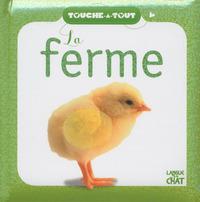 TOUCHE-A-TOUT LA FERME (FOND BLANC)