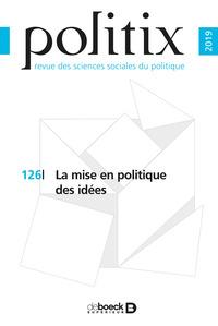 POLITIX 2019/1 - 125 - LE POLITIQUE AU COIN DE LA RUE