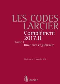 CODES LARCIER - T.1 - BASE 2016+M.17/2 DROIT CIVIL
