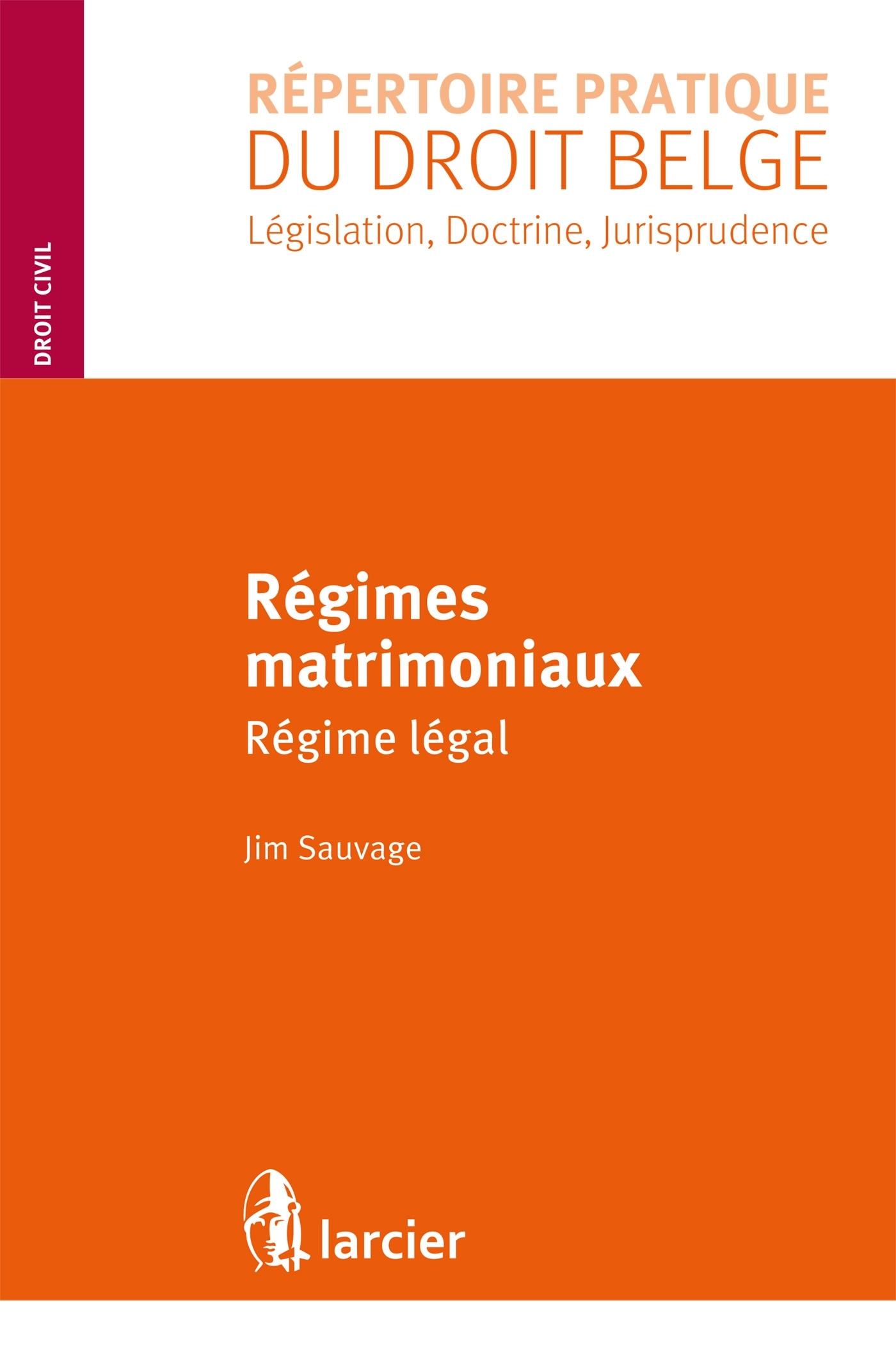 REGIMES MATRIMONIAUX - REGIME LEGAL