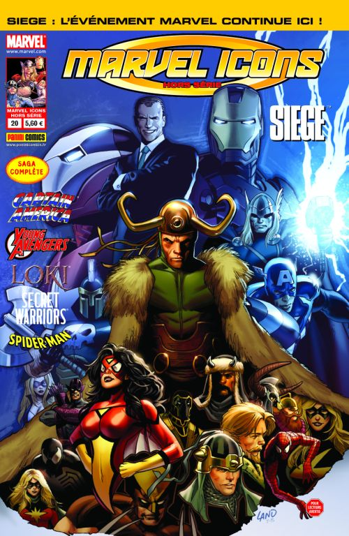 MARVEL ICONS HS 20