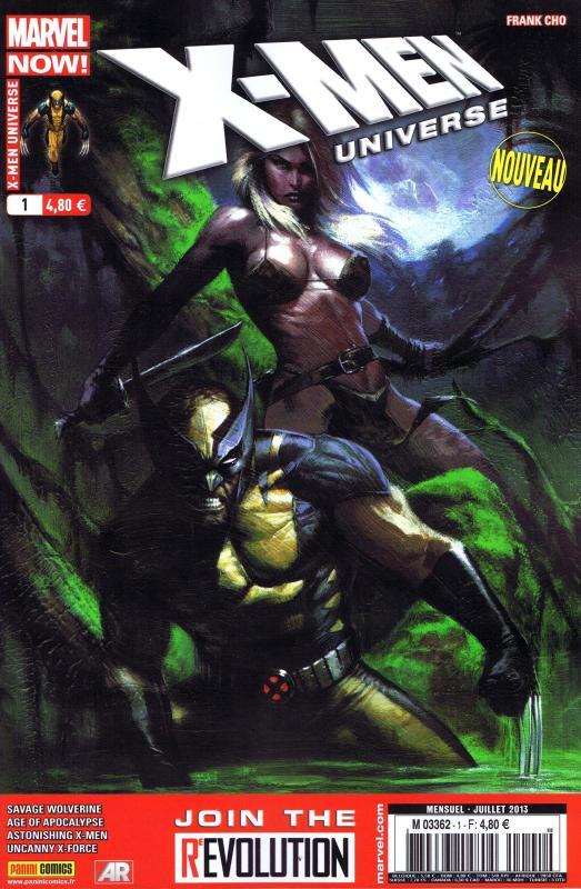 X-MEN UNIVERSE 2013 001