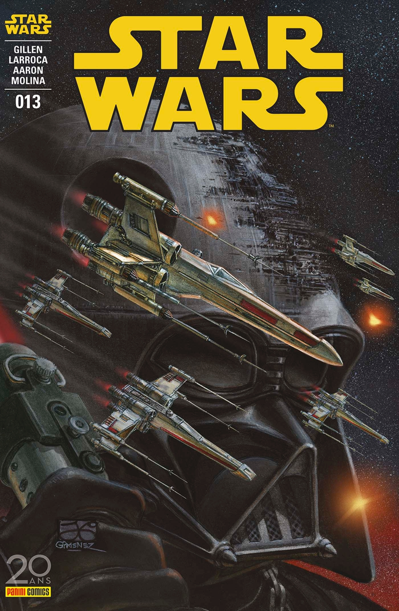 STAR WARS N 13 (COUVERTURE 1/2)