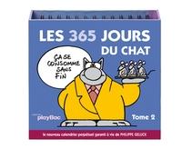 CALENDRIER LES 365 JOURS DU CHAT - TOME 2