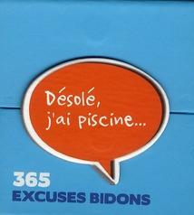 MINI CALENDRIER - 365 EXCUSES BIDON