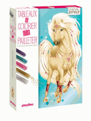 ANIMAL STYLE - CARTE A PAILLETER CHEVAL STYLE
