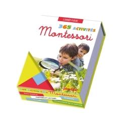 CALENDRIER 365 ACTIVITES MONTESSORI A FAIRE AVEC MON ENFANT - L'ANNEE A BLOC