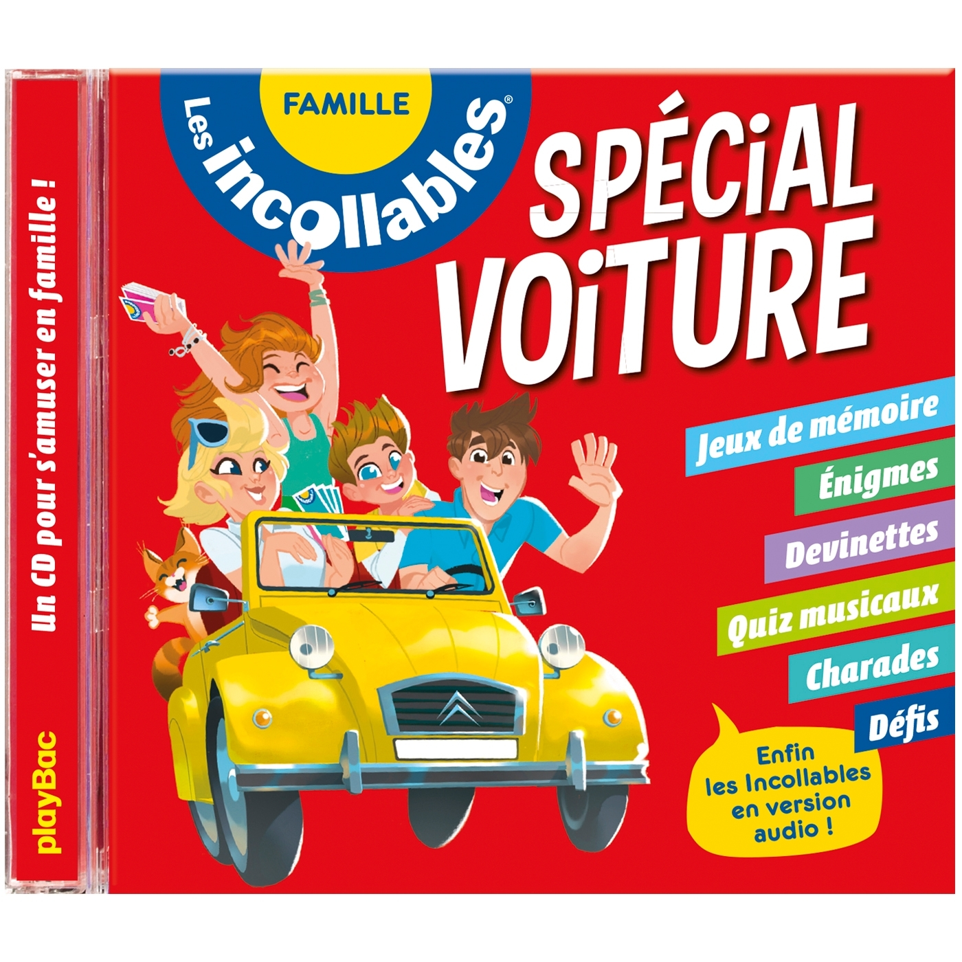 LES INCOLLABLES - CD SPECIAL VOITURE - EDITION 2018