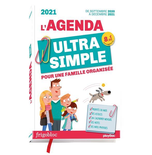 Agenda ultra simple pour une famille organisee ! de sept 2020 a dec 2021