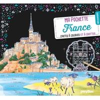MA POCHETTE FRANCE - CARTES A GRATTER ET A COLORIER