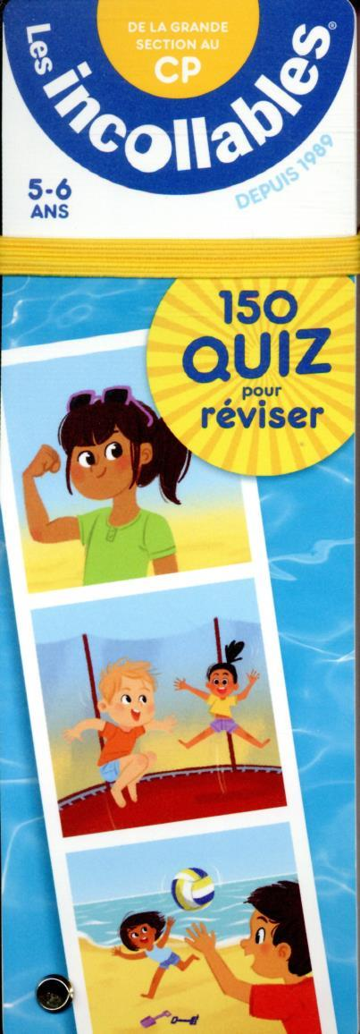 Les incollables - 150 quiz pour reviser - de la grande section au cp ed.21