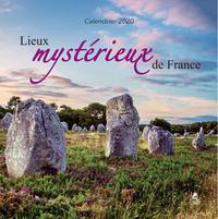 CALENDRIER LIEUX MYSTERIEUX DE FRANCE 2020