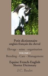 PETIT DICTIONNAIRE VOL 2 ANGLAIS FRANCAIS