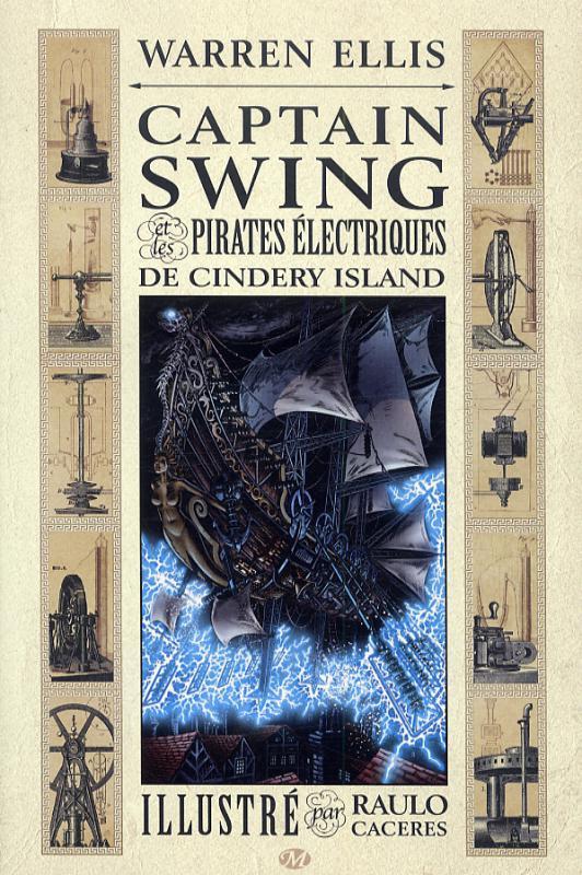 CAPTAIN SWING ET LES PIRATES ELECTRIQUES DE CINDERY ISLAND