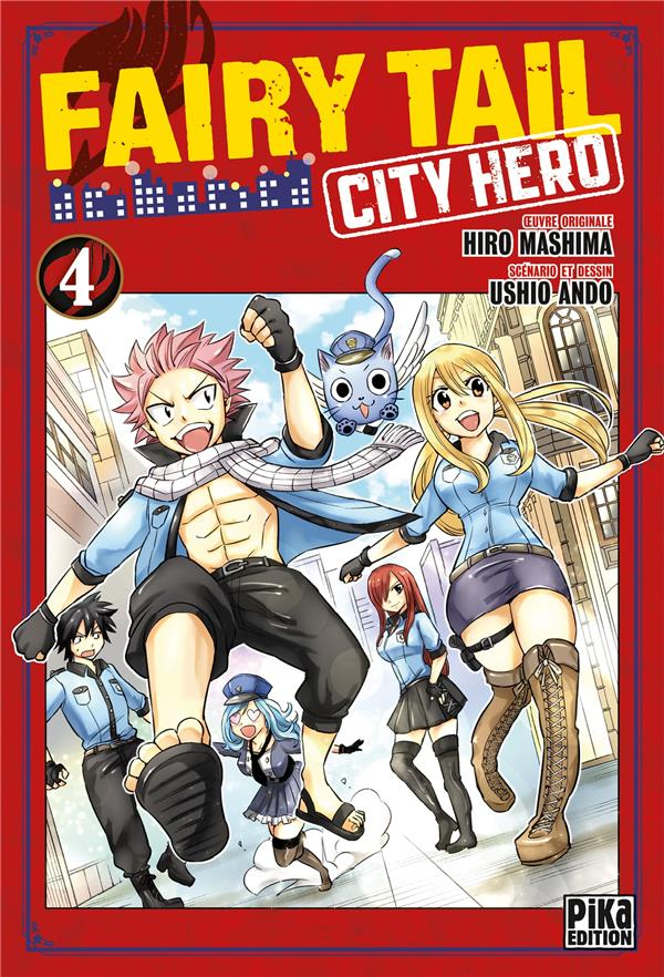 Fairy tail - city hero t04
