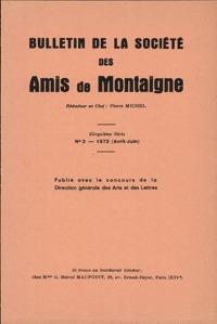 BULLETIN DE LA SOCIETE DES AMIS DE MONTAIGNE. V, 1972-2, N  2 - VARIA