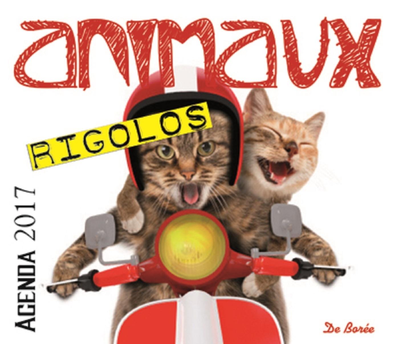 ANIMAUX RIGOLOS AGENDA 2017