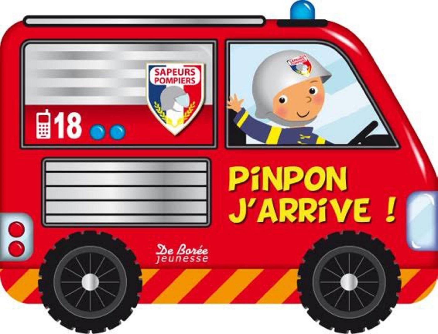 PINPON J'ARRIVE LIVRE A ROUES