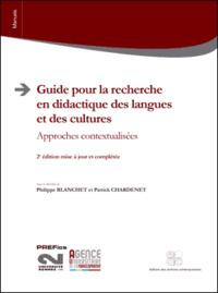 GUIDE POUR LA RECHERCHE EN DIDACTIQUE DES LANGUES ET DES CULTURES